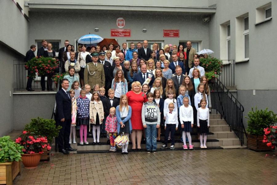 Inauguracja pierwszego w historii szkoły roku szkolnego 2017/2018